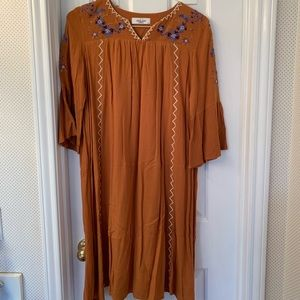 CJLA Dress rust color